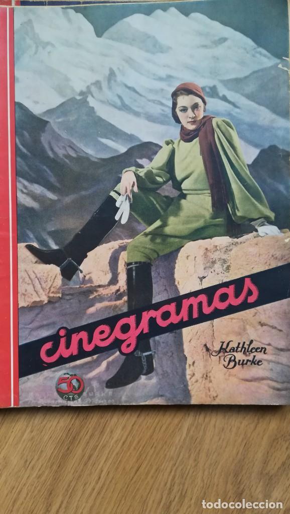 Cine: 12 números Revista Cinegramas - Foto 18 - 246103380