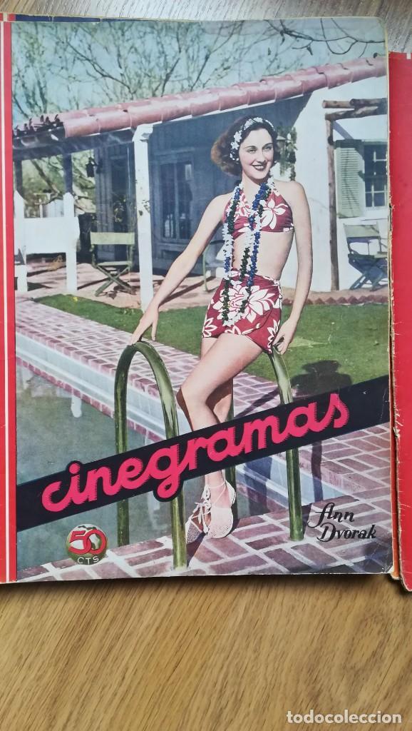 Cine: 12 números Revista Cinegramas - Foto 20 - 246103380
