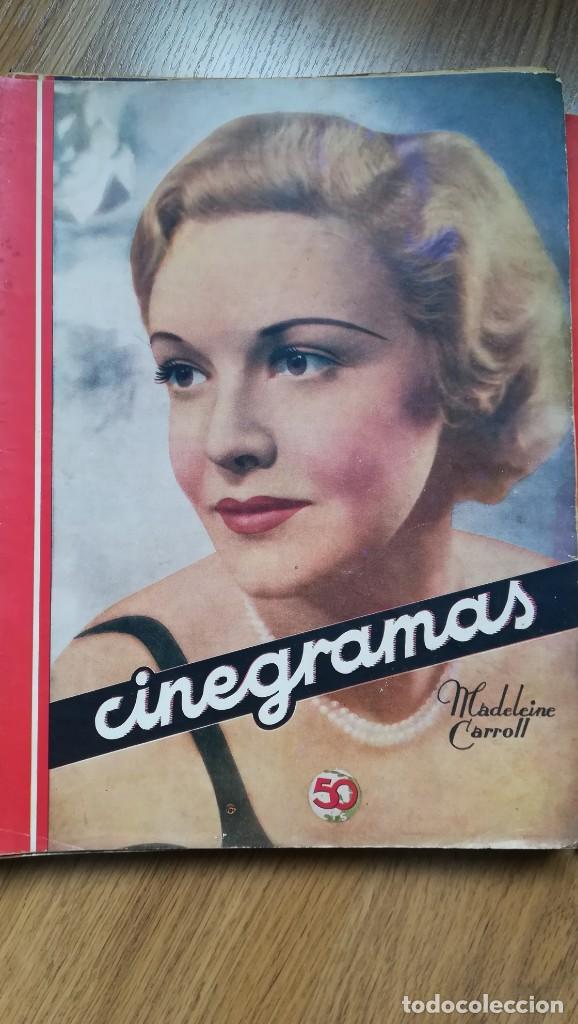 Cine: 12 números Revista Cinegramas - Foto 22 - 246103380