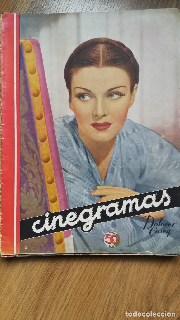 Cine: 12 números Revista Cinegramas - Foto 26 - 246103380