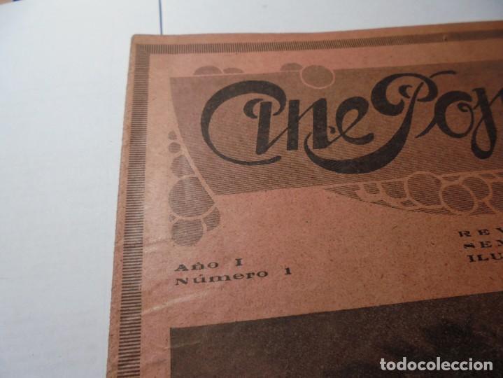 Cine: magnificas 2 revistas antiguas cine popular del 1921 - Foto 2 - 246372345