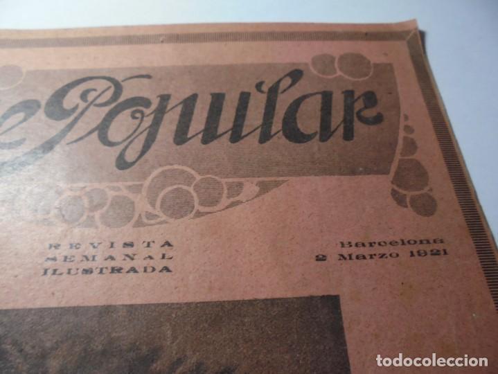 Cine: magnificas 2 revistas antiguas cine popular del 1921 - Foto 3 - 246372345