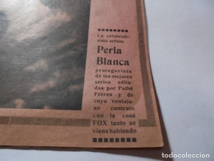 Cine: magnificas 2 revistas antiguas cine popular del 1921 - Foto 5 - 246372345