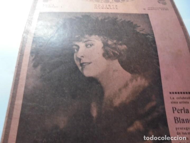 Cine: magnificas 2 revistas antiguas cine popular del 1921 - Foto 6 - 246372345