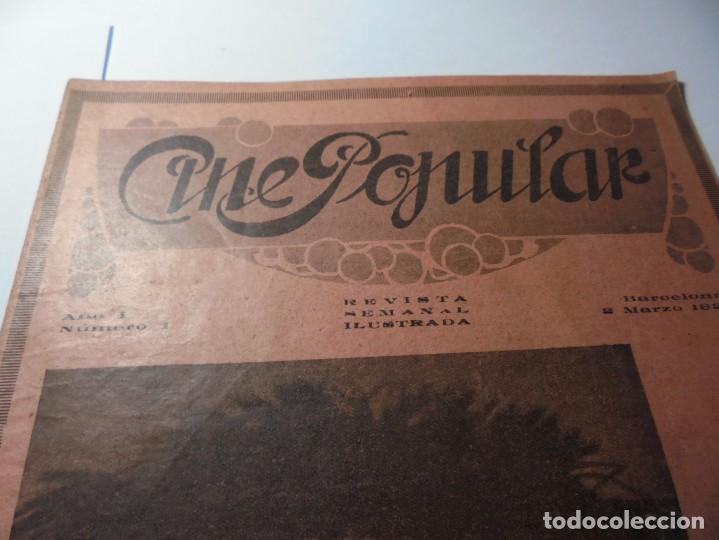 Cine: magnificas 2 revistas antiguas cine popular del 1921 - Foto 7 - 246372345