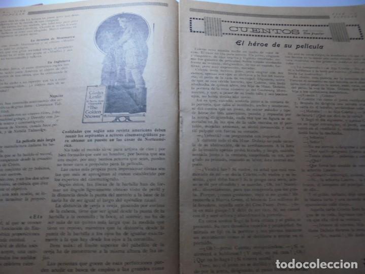 Cine: magnificas 2 revistas antiguas cine popular del 1921 - Foto 10 - 246372345