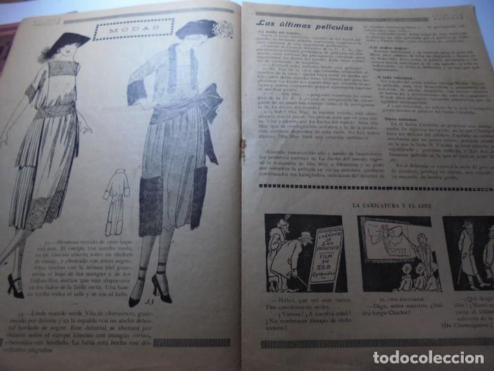 Cine: magnificas 2 revistas antiguas cine popular del 1921 - Foto 11 - 246372345