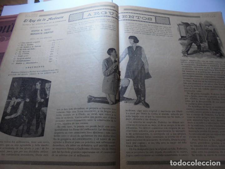 Cine: magnificas 2 revistas antiguas cine popular del 1921 - Foto 12 - 246372345