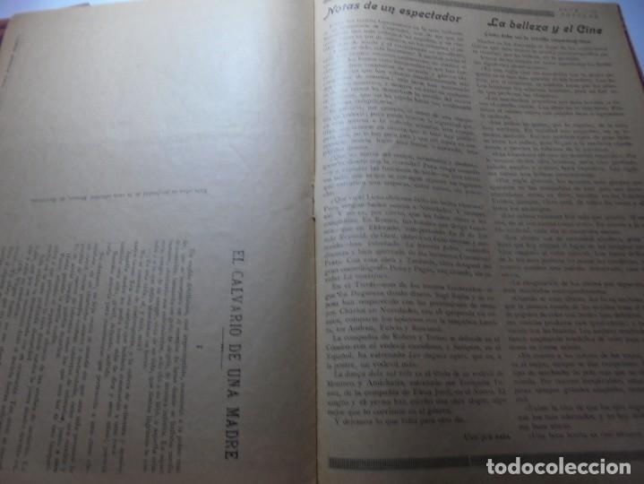 Cine: magnificas 2 revistas antiguas cine popular del 1921 - Foto 15 - 246372345