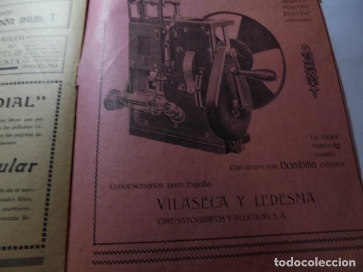 Cine: magnificas 2 revistas antiguas cine popular del 1921 - Foto 16 - 246372345