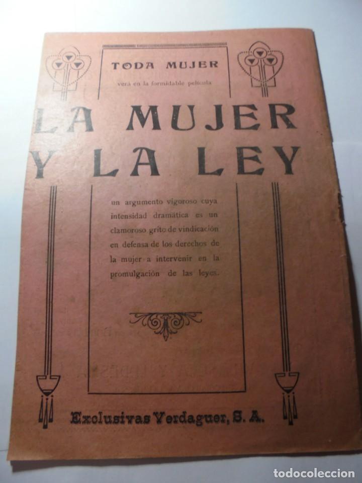 Cine: magnificas 2 revistas antiguas cine popular del 1921 - Foto 17 - 246372345