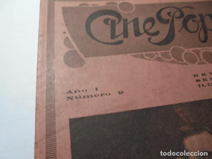 Cine: magnificas 2 revistas antiguas cine popular del 1921 - Foto 19 - 246372345