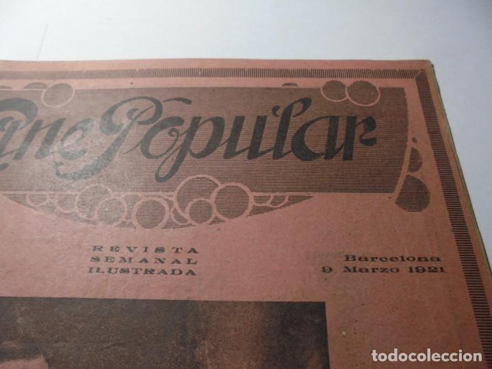 Cine: magnificas 2 revistas antiguas cine popular del 1921 - Foto 20 - 246372345