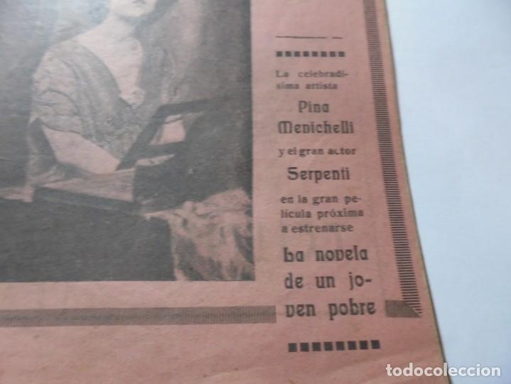 Cine: magnificas 2 revistas antiguas cine popular del 1921 - Foto 21 - 246372345