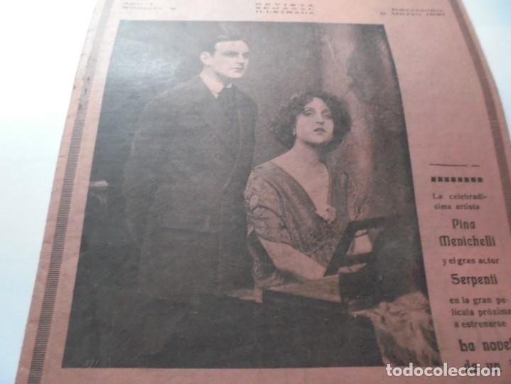 Cine: magnificas 2 revistas antiguas cine popular del 1921 - Foto 23 - 246372345