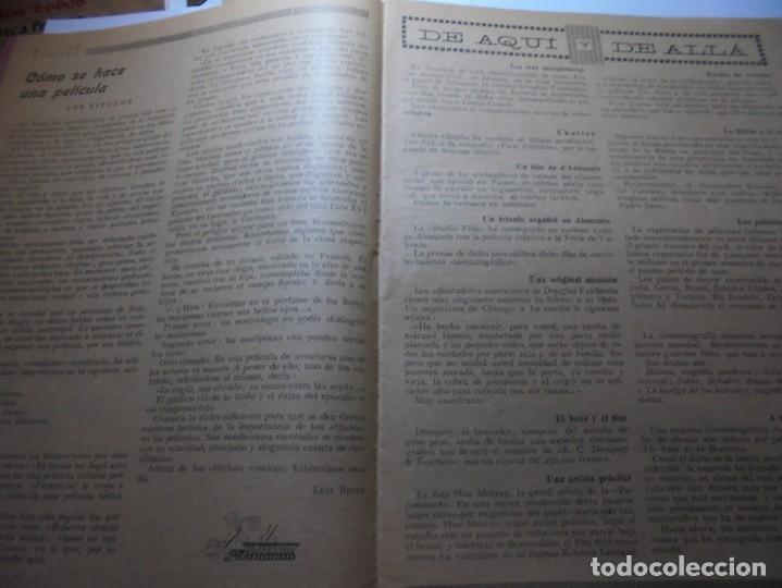 Cine: magnificas 2 revistas antiguas cine popular del 1921 - Foto 25 - 246372345