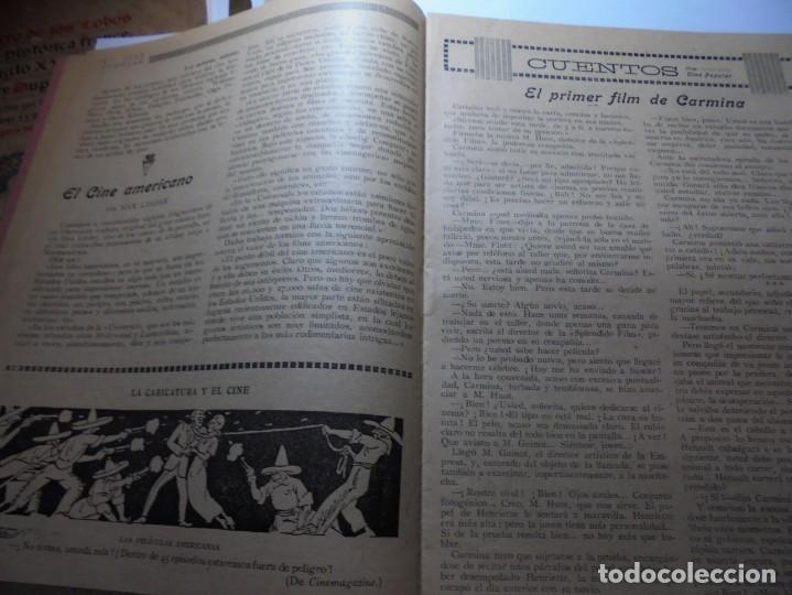 Cine: magnificas 2 revistas antiguas cine popular del 1921 - Foto 26 - 246372345