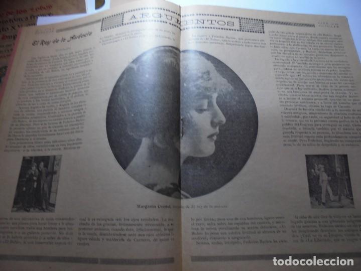 Cine: magnificas 2 revistas antiguas cine popular del 1921 - Foto 28 - 246372345