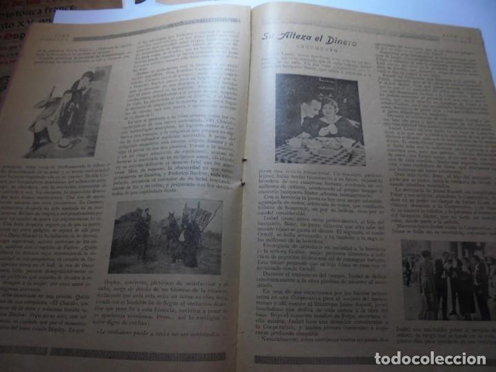 Cine: magnificas 2 revistas antiguas cine popular del 1921 - Foto 29 - 246372345