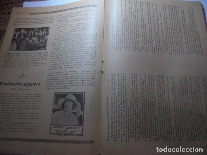 Cine: magnificas 2 revistas antiguas cine popular del 1921 - Foto 30 - 246372345