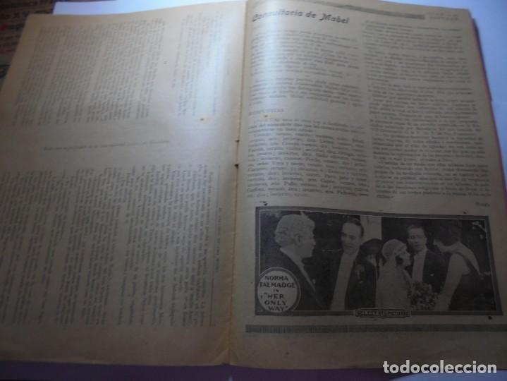 Cine: magnificas 2 revistas antiguas cine popular del 1921 - Foto 31 - 246372345