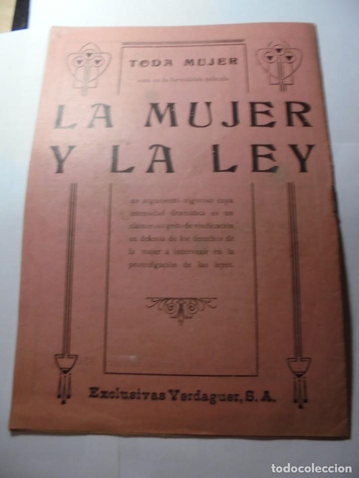Cine: magnificas 2 revistas antiguas cine popular del 1921 - Foto 33 - 246372345