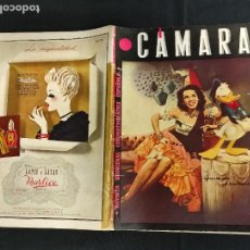 Cine: REVISTA DE CINE - CAMARA - Nº 65 - PORTADA AURORA MIRANDA Y EL PATO DONALD -. Lote 246481365