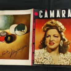 Cine: REVISTA DE CINE - CAMARA - SEPTIEMBRE 1944 - PORTADA ISABELITA GARCES. Lote 246611790