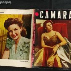 Cine: REVISTA DE CINE - CAMARA - 15 AGOSTO 1944 - PORTADA PASTORA PEÑA. Lote 246611965