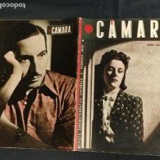Cine: REVISTA DE CINE - CAMARA - FEBRERO 1942 - PORTADA IMPERIO ARGENTINA. Lote 246612250