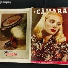 Cine: REVISTA DE CINE - CAMARA - NUMERO EXTRAORDINARIO 1945 -. Lote 246612810
