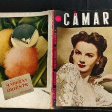 Cine: REVISTA DE CINE - CAMARA - 1 MARZO 1945 - PORTADA JANET BLAIR -. Lote 246613160