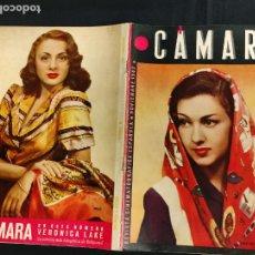 Cine: REVISTA DE CINE - CAMARA - NOVIEMBRE 1943 - PORTADA AMPARITO RIVELLES. Lote 246613205