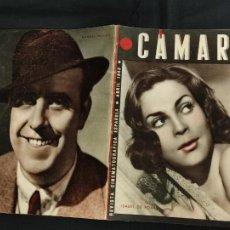 Cinema: REVISTA DE CINE - CAMARA - ABRIL 1943 - PORTADA ISABEL DE POMES. Lote 246613240