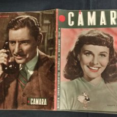 Cine: REVISTA DE CINE - CAMARA - NOVIEMBRE 1942 - PORTADA PAULETTE GODDARD. Lote 246613280