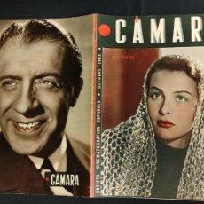 Cine: REVISTA DE CINE - CAMARA - OCTUBRE 1942 - PORTADA ILSE WERNER. Lote 246613305