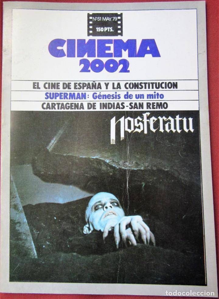 CINEMA 2002 NÚMERO 51 (Cine - Revistas - Cinema)