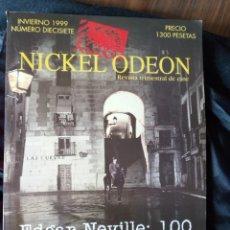 Cinema: REVISTA TRIMESTRAL DE CINE NICKEL ODEON Nº 17 - INVIERNO 1999. EDGAR NEVILLE: 100. Lote 246775995
