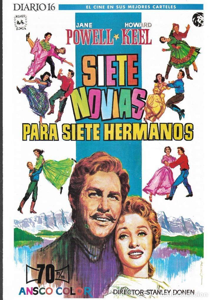 Cine: LOTE 26 CARTELES - EL CINE EN SUS MEJORES CARTELES - EDICIÓN CONMEMORATIVA 100 AÑOS DE CINE - DIARIO - Foto 3 - 246847590