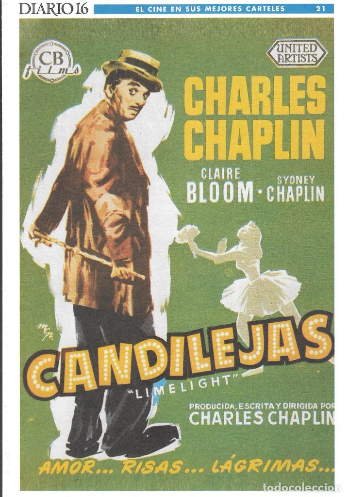Cine: LOTE 26 CARTELES - EL CINE EN SUS MEJORES CARTELES - EDICIÓN CONMEMORATIVA 100 AÑOS DE CINE - DIARIO - Foto 5 - 246847590