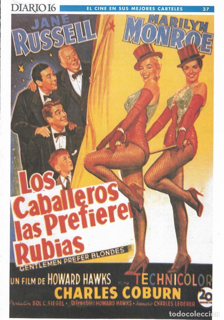 Cine: LOTE 26 CARTELES - EL CINE EN SUS MEJORES CARTELES - EDICIÓN CONMEMORATIVA 100 AÑOS DE CINE - DIARIO - Foto 7 - 246847590