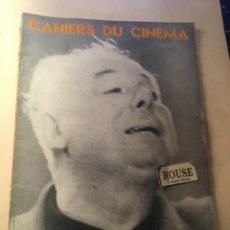 Cine: CINE - REVISTA - CAHIERS DU CINÉMA Nº 78 NOEL 1957 MONOGRAFICO JEAN RENOIR EDT. DE L'ETOILE. Lote 246942685