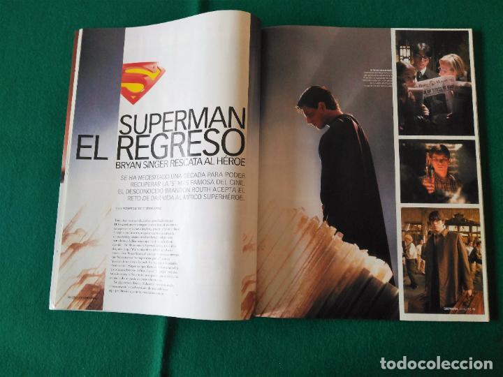 Cine: REVISTA CINEMANÍA - SUPERGIRL - LAS 8 CHICAS DEL VERANO - JULIO 2006 - Nº 130 - Foto 4 - 247080440