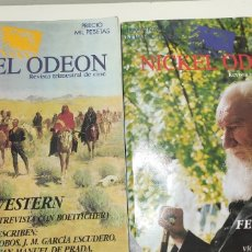 Cine: LOTE 2 REVISTAS NICKEL ODEON. ESPECIAL WESTERN DIFÍCIL Y NÚMERO 8. Lote 247113990
