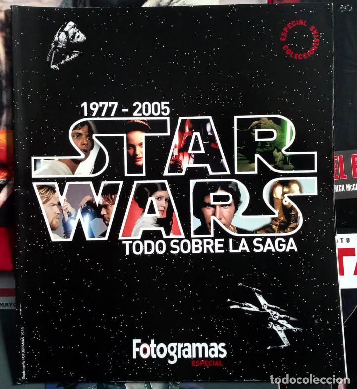 Cine: COLECCION CINEMANIA ESPECIALES STAR WARS + ESPECIAL FOTOGRAMAS- COMO NUEVOS - Foto 4 - 247528755