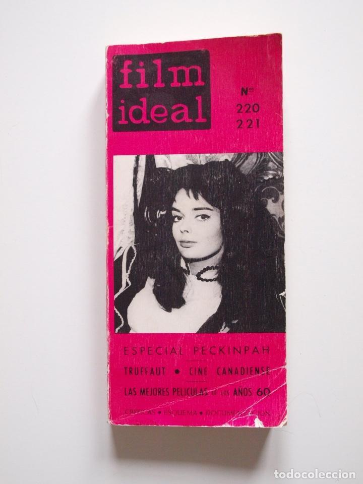 FILM IDEAL - NUMERO DOBLE Nº 220-221 - ESPECIAL SAM PECKINPAH - 1970 (Cine - Revistas - Film Ideal)