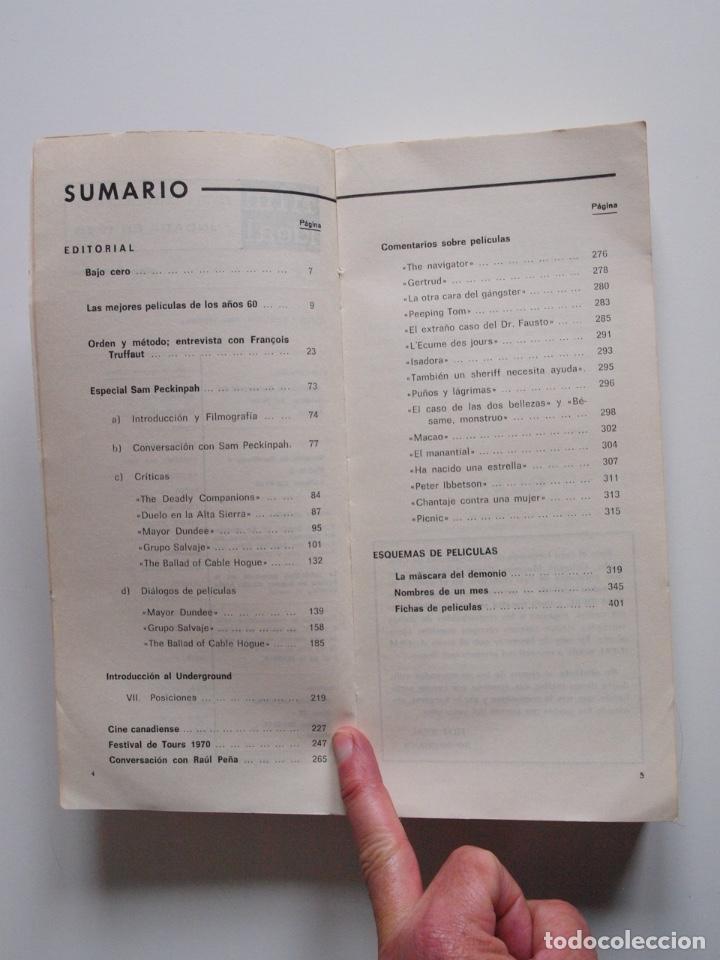 Cine: FILM IDEAL - NUMERO DOBLE Nº 220-221 - ESPECIAL SAM PECKINPAH - 1970 - Foto 4 - 247921670