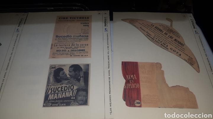 Cine: Lote 11 LAMINAS PROGRAMAS DE MANO TROQUELADOS PANTALLA 3 LEER DESCRIPCION - Foto 8 - 248149005