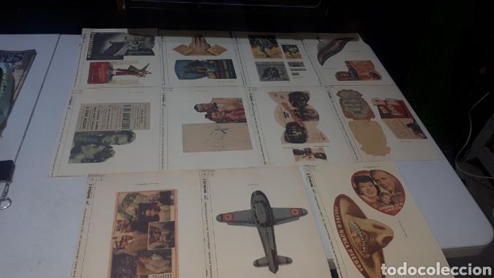 LOTE 11 LAMINAS PROGRAMAS DE MANO TROQUELADOS PANTALLA 3 LEER DESCRIPCION (Cine - Reproducciones de carteles, folletos...)