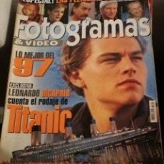 Cine: FOTOGRAMAS 1851. MARZO 1998. LEO DICAPRIO, TITANIC.... Lote 248282680